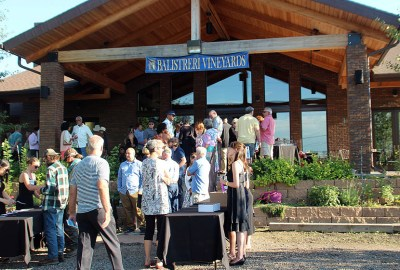 The outdoor food and music extravaganza is held on the in the beautiful grounds that surround the facility that has been family owned since 1964. Balistreri Vineyards sources nearly 100 percent of its wine grapes in Colorado.