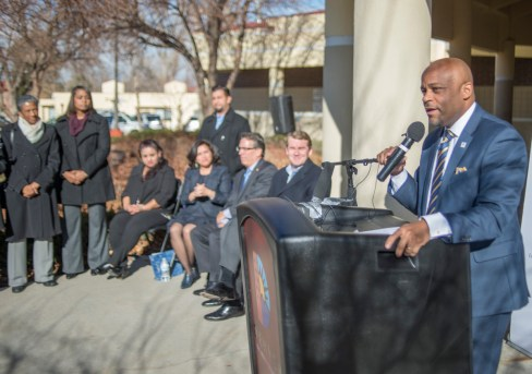 HUD announcement in Sun Valley Monday December 12, 2016. photos by Evan Semón Photography