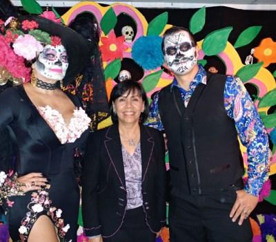 Berenice Rendon Talavera, (center) the General Consul of Mexico in Denver