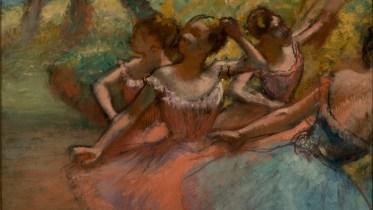 Degas_Four Ballet Dancers on Stage_Brazil