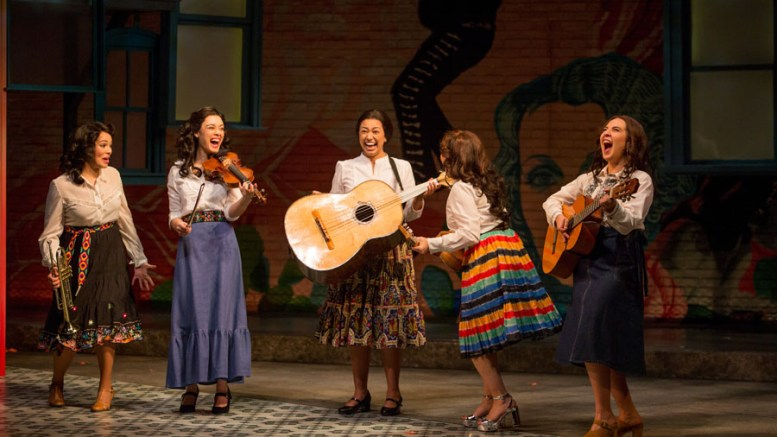 """Las Coranelas"" the name the group decides to give themselves make their debut at a quinceañera  . photo-by-adamsviscom"
