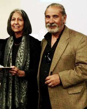 Juan Espinoza, Founder of El Diario de la Gente newspaper with wife Deborah.