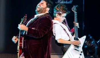 Denver Center_Rob Colletti and Phoenix Schuman in the School of Rock Tour. © Matthew Murphy.
