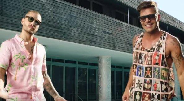 Ricky Martin e Maluma destroem marcas no YouTube com Vente Pa'Ca
