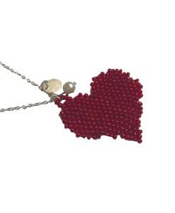 collier-coeur-perles-cadeau-bijoux-fantaisie-la touche finale
