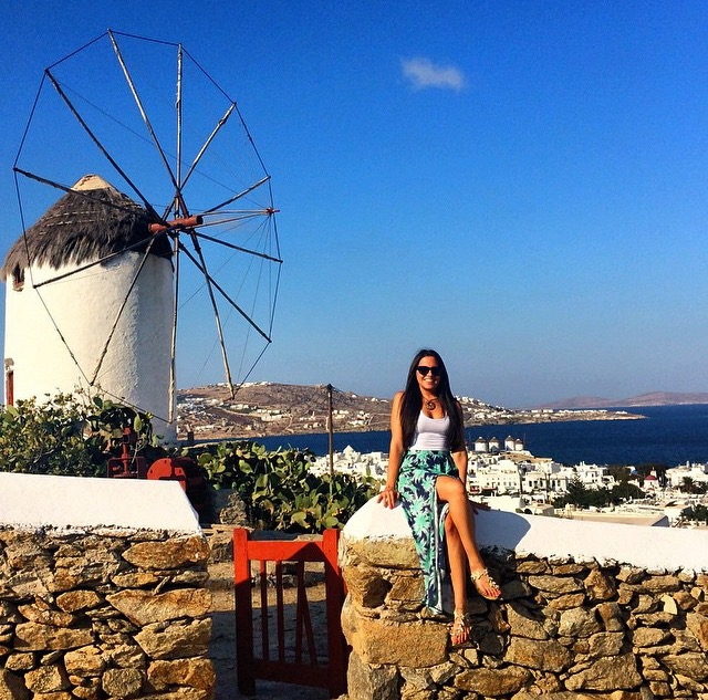 Spring Break  Mykonos Island  Greece     LA Travel Girl If you are looking for a memorable spring or summer beach holiday I would  suggest hitting up my beloved   Mykonos   Mon favorite Island out of the  Greek