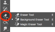 how to use the eraser brush in lightroom