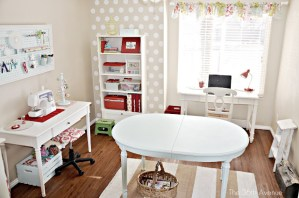 Office/Craft Room Inspiration and a Giveaway Winner