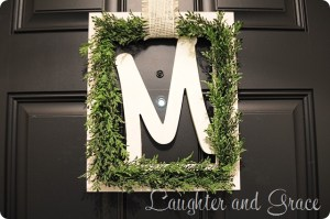 Monagram Wreath