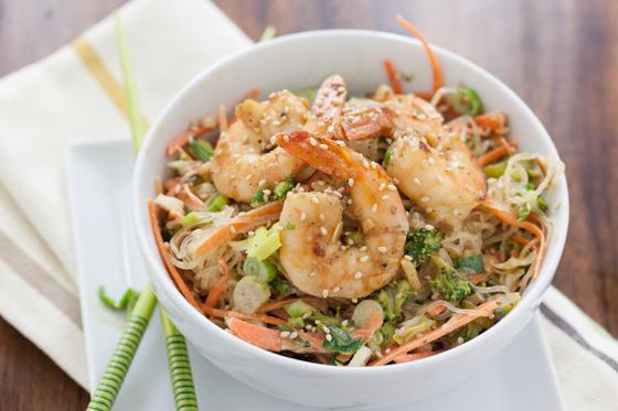 Paleo Shrimp Vermicelli Salad