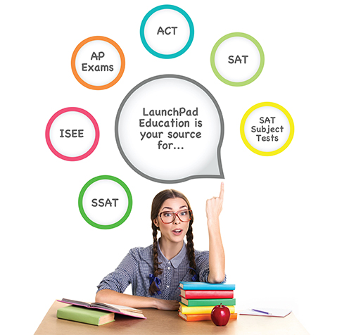 ACT SAT SAT Subject Tests AP Exams SSAT ISEE