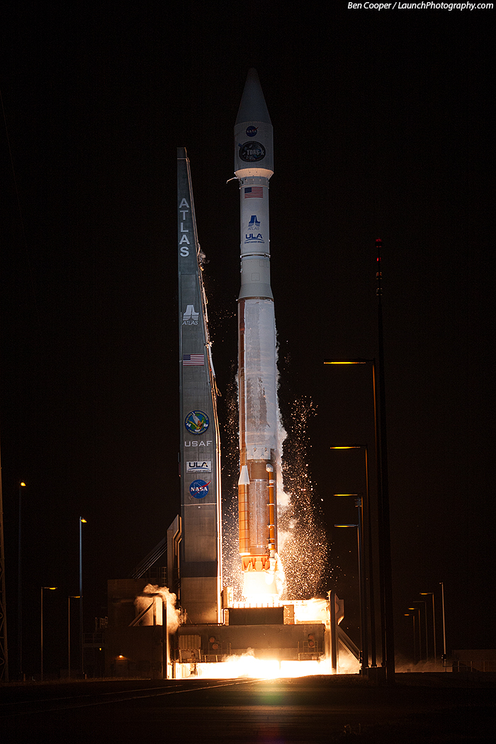Atlas 5 launches TDRS-K :: Ben Cooper