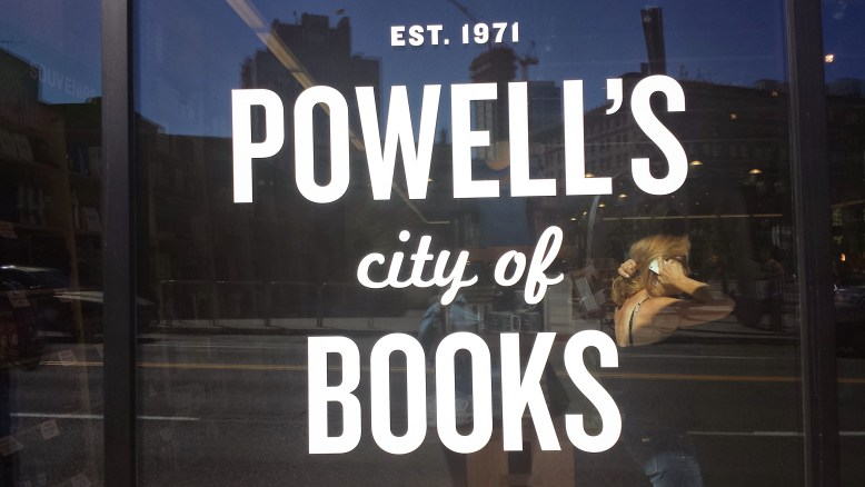 """""""Powell's is a tiny city of knowledge that lives in the downtown of Portland. I could have spent another 2-3 hours inside, pouring over the shelves. Powell's logo and branding is clean and concise, with a bit of playfulness."""""""