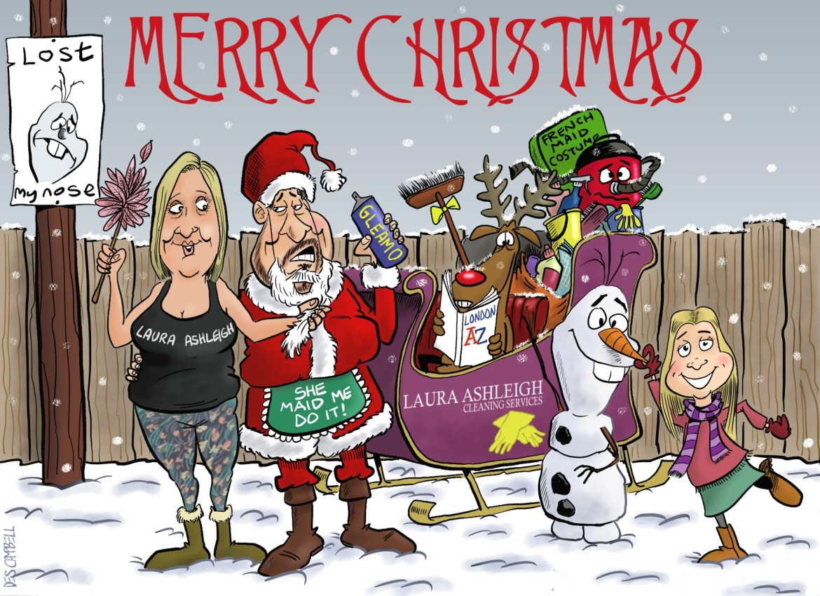 Merry Christmas from Laura Ashleigh Cleaning Services