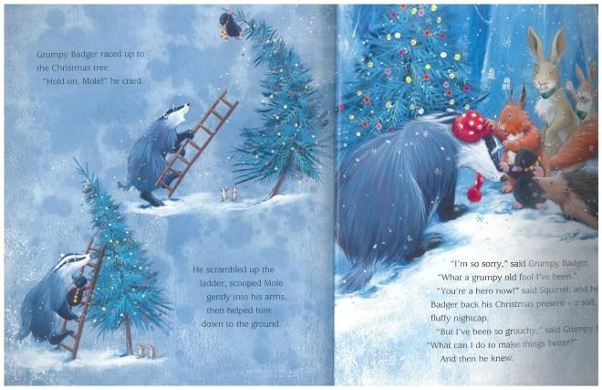 Grumpy Badgers Christmas