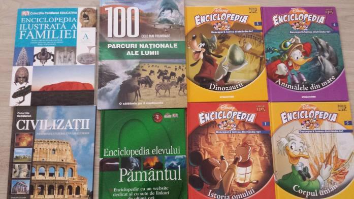 Câteva dintre cărţile donate