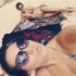 Así se la pasan Alejandra Guzmán y Frida Sofía en la playa … ¡Guapas!