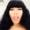 Nicki Minaj compartió un sexy 'selfie' presumiendo MEGA escote
