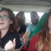 Grupo de amigos cantaban en el auto cuando de pronto se llevaron el susto de su vida