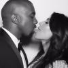 Kim Kardashian celebró primer año de casada con fotos inéditas de su lujosa boda