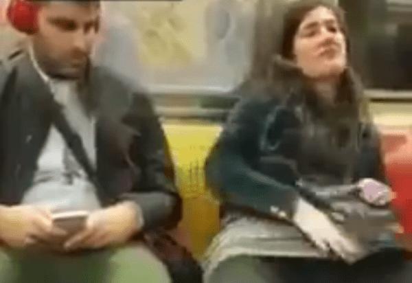Difunden video de una joven masturbándose en el metro de Nueva York