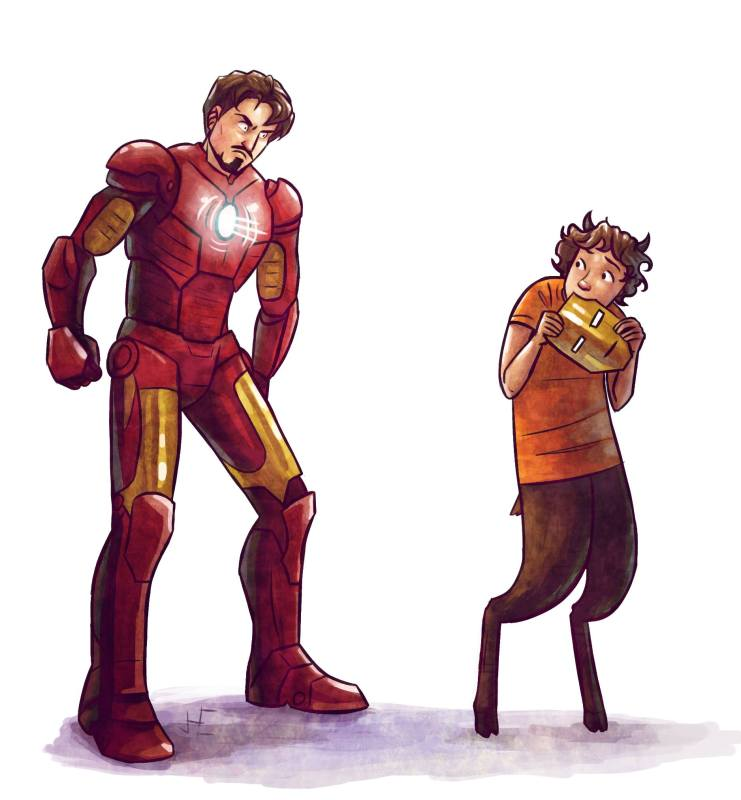 Percy Jackson/Marvel – Grover vs. Iron Man