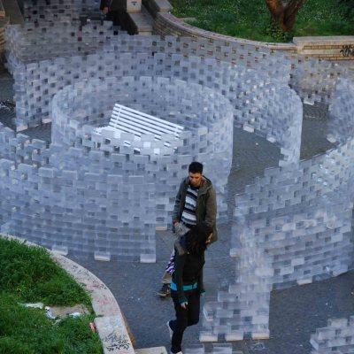 installazione Accademia di Belle Arti Roma