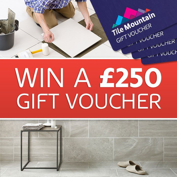 Win a £250 Tile Mountain voucher