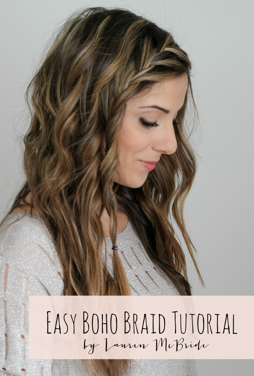 Easy Boho Braid Tutorial Main