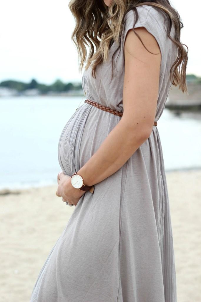 Bohemian Maternity Style Lauren Mcbride