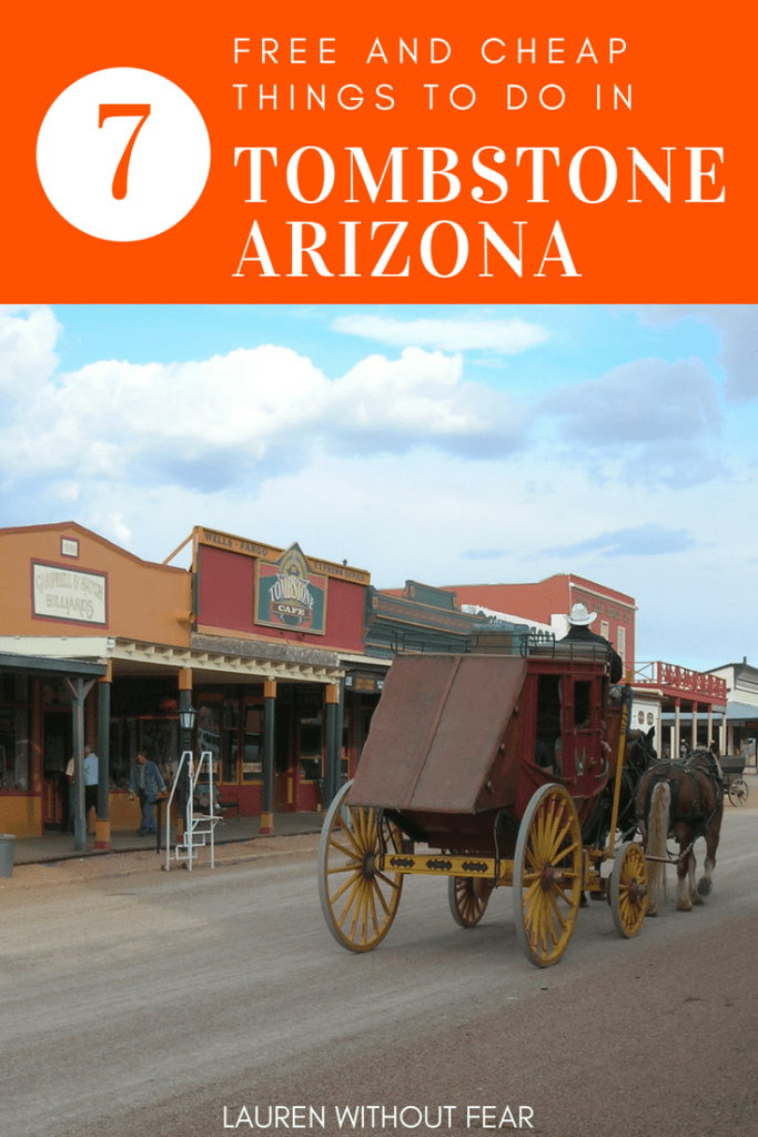 Tombstone Arizona travel guide | tour wild west gunfight gun fight | attractions road trip 2017 | real authentic wanderlust today vlog town what to do budget free cheap family friendly solo female travel usa us By Grombo - Own work, CC BY-SA 3.0, https://commons.wikimedia.org/w/index.php?curid=848069