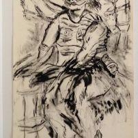 Seated Woman In Tutu