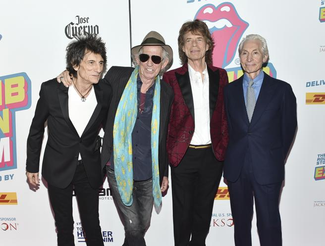 The Rolling Stones,(Photo by Evan Agostini/Invision/AP, File)