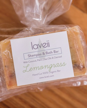 Laveii Lemongrass Shampoo Bar