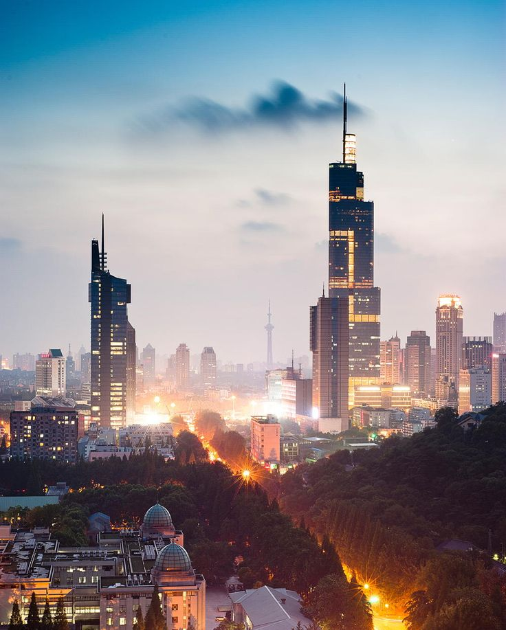 Nanjing China | Photo by Ling XiaoYu on Fivehundredpx