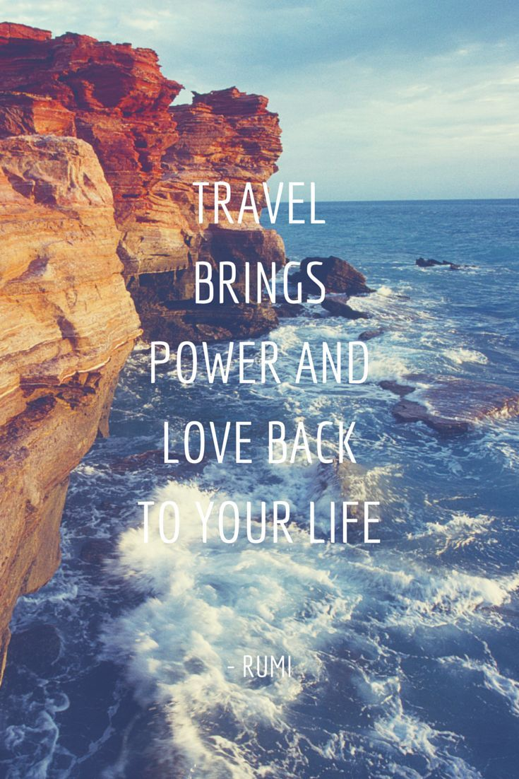 Travel Quotes | Posted On La Vie Sans Peur Via Be My Travel Muse Blog