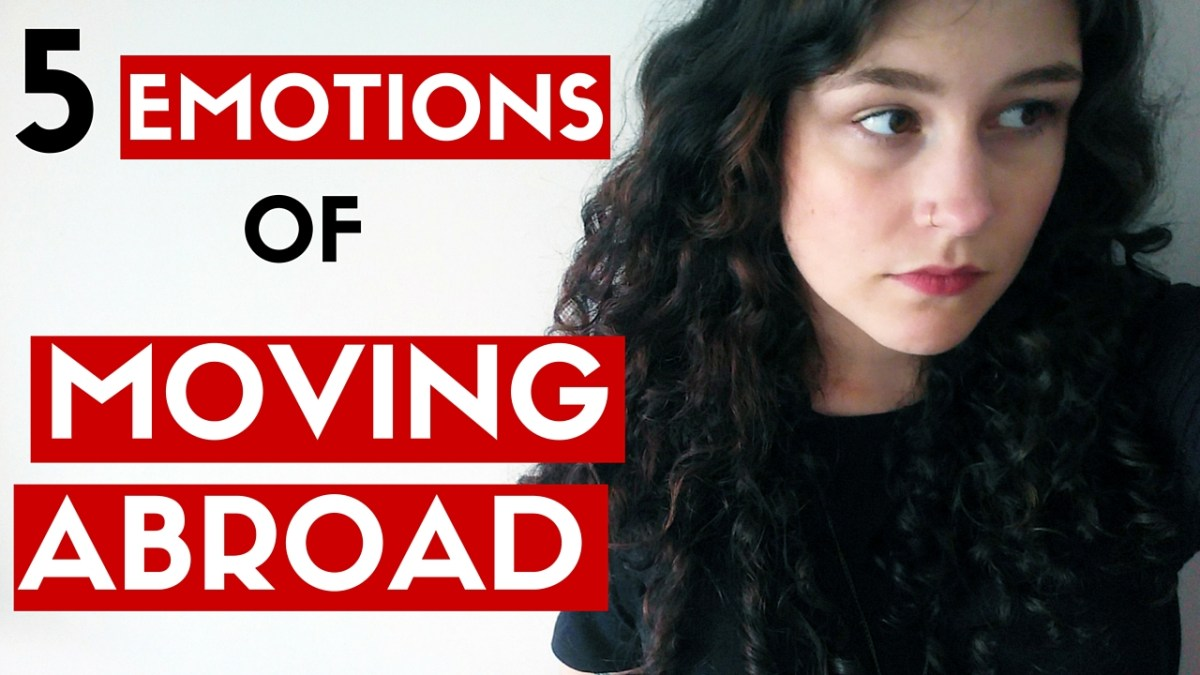5 Emotional Phases Of Moving Abroad. What emotions and phases of culture shock to expect when you move or study abroad. This is what I went through after moving to a country where I don't speak the language. I deal with anxiety and depression, but I don't let that stop me from travel! vlog video