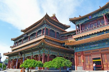 Yonghe Temple AKA Lama Temple in Beijing, China