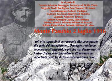 "Salvatore Damaggio la ""Leggenda del Pasubio"""