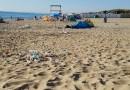 Catania, spiaggia libera n° 3 oggi