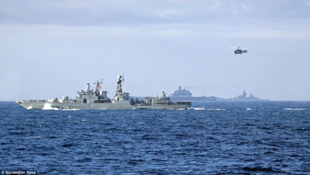 Nel Mediterraneo faccia a faccia Russia-USA