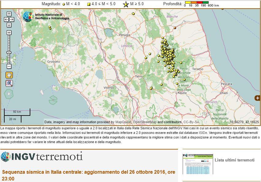 Di nuovo il terrore: terremoto in centro Italia