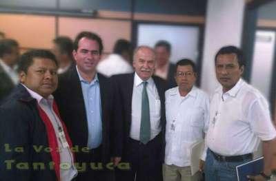 El Líder Nacional de la UCEN, llevó a cabo importante reunión de trabajo en la ciudad de México, en donde se reunió con importantes funcionarios a nivel Federal.