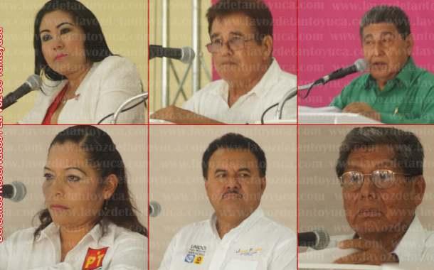 Todo un éxito el debate organizado por el OPLE en Tantoyuca