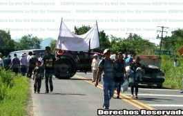 Comuneros vuelven a bloquear la carretera federal en Tantoyuca