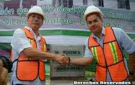 VIDEO - Colocan la primera piedra del nuevo hospital del IMSS en Chalma