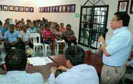 Participación ciudadana, importante en la ejecución de obras: Jesús Guzmán Avilés