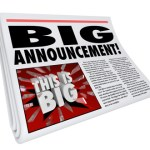 Headline Big Announcement