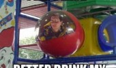Man vs Wild. Lost in McDonald's play place. Better drink my own piss.
