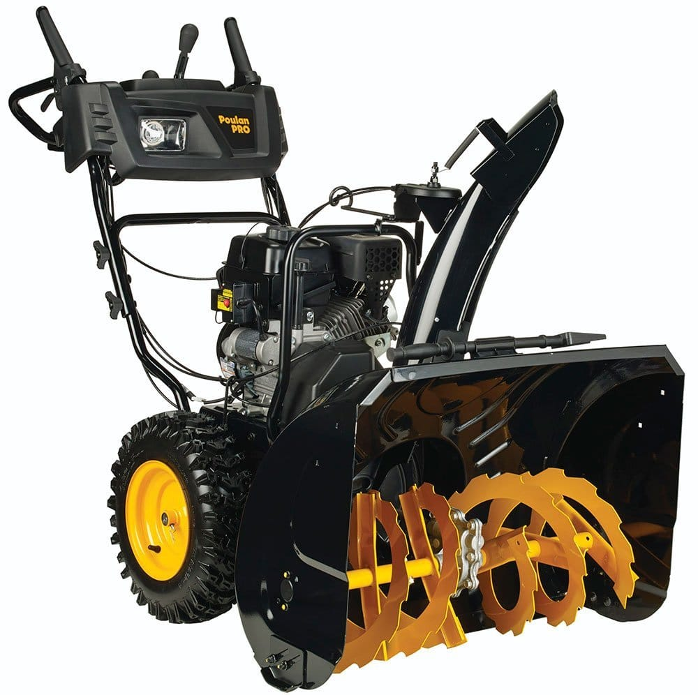 how to make a snow blower